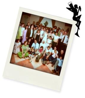 foto di gruppo del coro bandeko